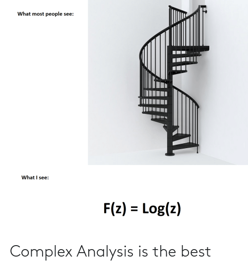 Complex, Best, and The Best: Complex Analysis is the best