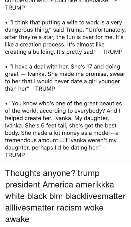 Trump video on dating a young girl when she is older