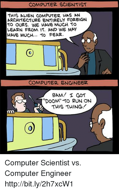 computer scientist this alien computer has an architecture entirely foreign 9818019 ✅ 25 best memes about computer engineering computer