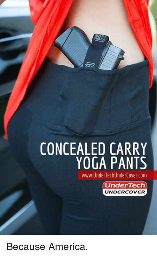 CONCEALED CARRY YOGA PANTS Www Under TechUnderCovercom Under