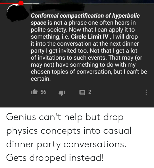 Conformal Compactification of Hyperbolic Space Is Not a Phrase One