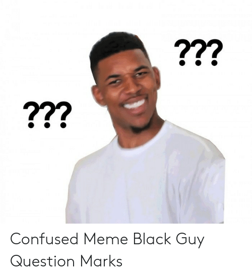 Download Confused Black Guy With Glasses Meme | PNG & GIF BASE