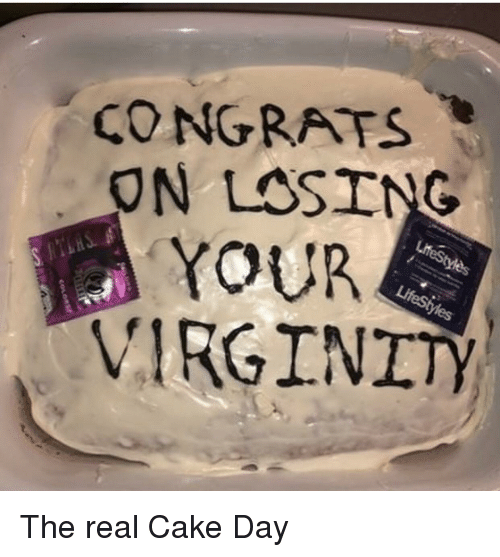 Share your day after losing virginity but not
