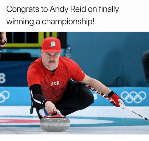Andy Reid, Nfl, and Usa: Congrats to Andy Reid on finally  winning a championship!  USA