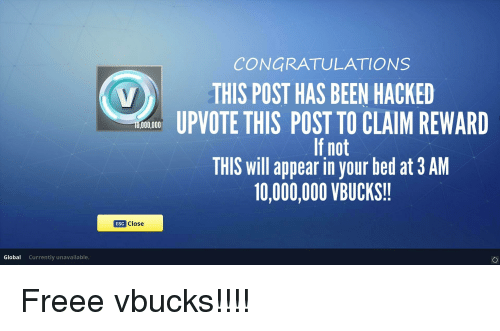 CONGRATULATIONS THIS POST HAS BEEN HACKED UPVOTE THIS POST