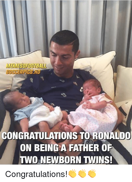 congratulations toronald on being a father o two newborn twins 24634982 congratulations toronald on being a father o two newborn twins