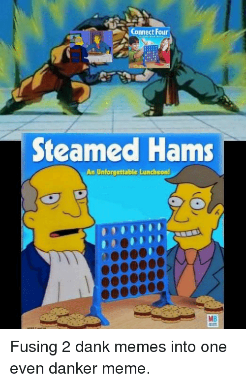Connect Four Steamed Hams an Unforgettable Luncheon MB