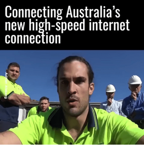 Connecting Australias New High Speed Internet Connection Internet