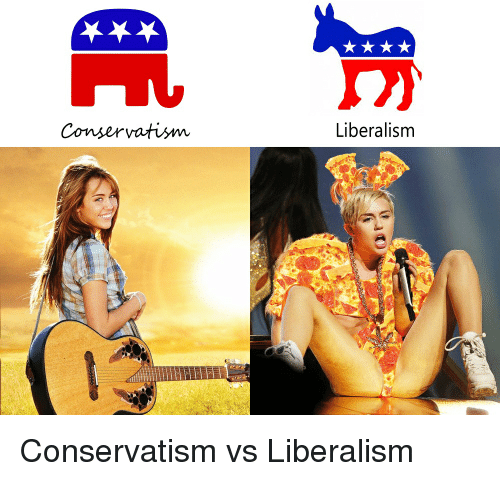 """a comparison of liberalism and conservatism Political liberals are """"bleeding hearts"""" because they empathize so strongly with  the  it also explains many of the quirky differences between democrats and."""