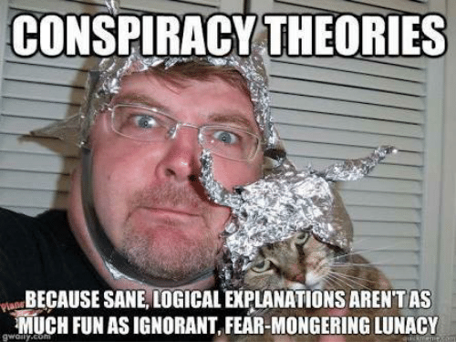 Image result for conspiracy theory meme