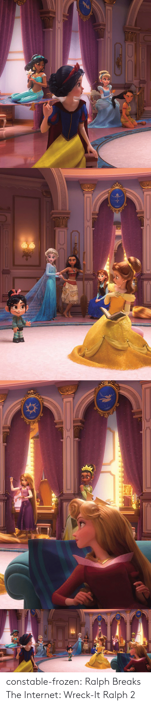 Frozen, Internet, and Tumblr: constable-frozen: Ralph Breaks The Internet: Wreck-It Ralph 2