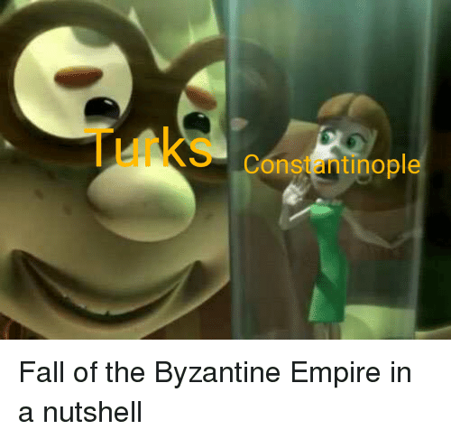 Empire, Fall, and History: Constantinople