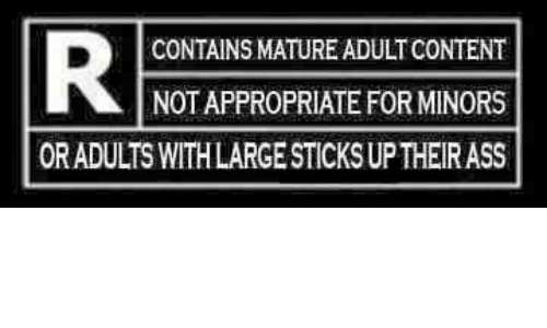 Adult mature content agree, useful
