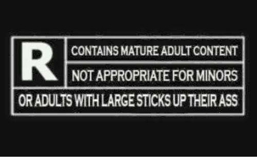 Not Adult mature content