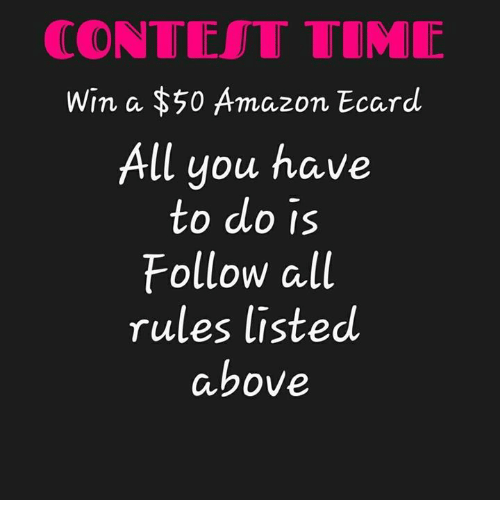Amazon Memes And Ecards CONTI IT TIME Win A 50 Ecard All
