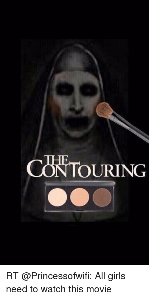 Girls, Movies, and Girl: CONTOURING RT @Princessofwifi: All girls need to watch this movie