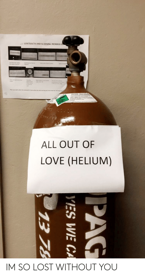 CONTRACTS AND SCANNING MEMBER I ALL OUT OF LOVE HELIUM IM SO