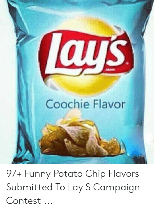 Coochie Flavor 97+ Funny Potato Chip Flavors Submitted to