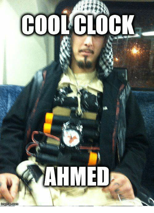 25+ Best Memes About Cool Clock Ahmed | Cool Clock Ahmed Memes  Obama