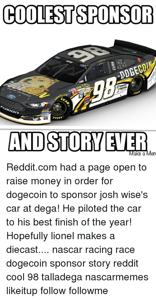 COOLESTSPONSOR Usion AHLE AND STORY EVER Ake A En Redditcom Had A - Sports cars reddit