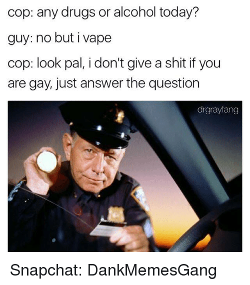 No But I Vape