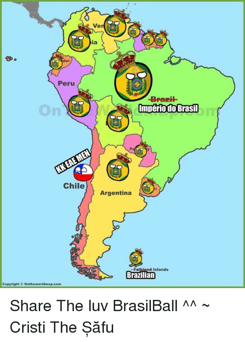 Copyright Dor Peru on Chile the World Map Com Ve Imperio Do ...