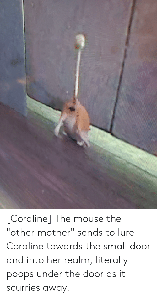Coraline the Mouse the Other Mother Sends to Lure Coraline