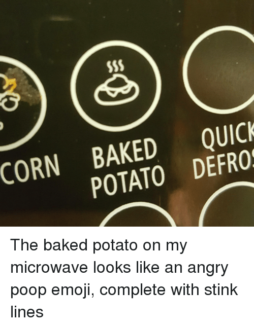corn baked defro quick potato s the baked potato on 16202213 ✅ 25 best memes about poop emoji poop emoji memes