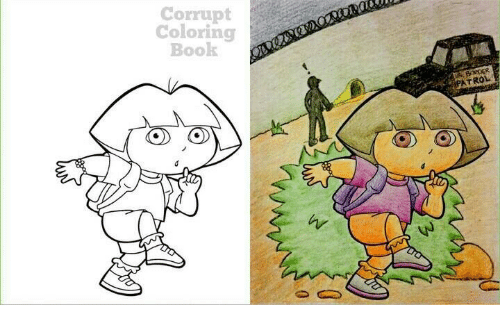 Book Coloring And Corrupt O TO PATROL