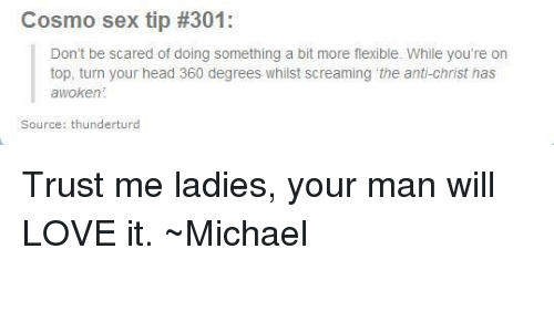 Sex tips for ladies