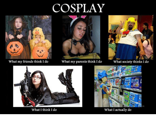 cosplay what my friends think i do what my parents 8400504 cosplay what my friends think i do what my parents think i do what,What I Think I Do Meme