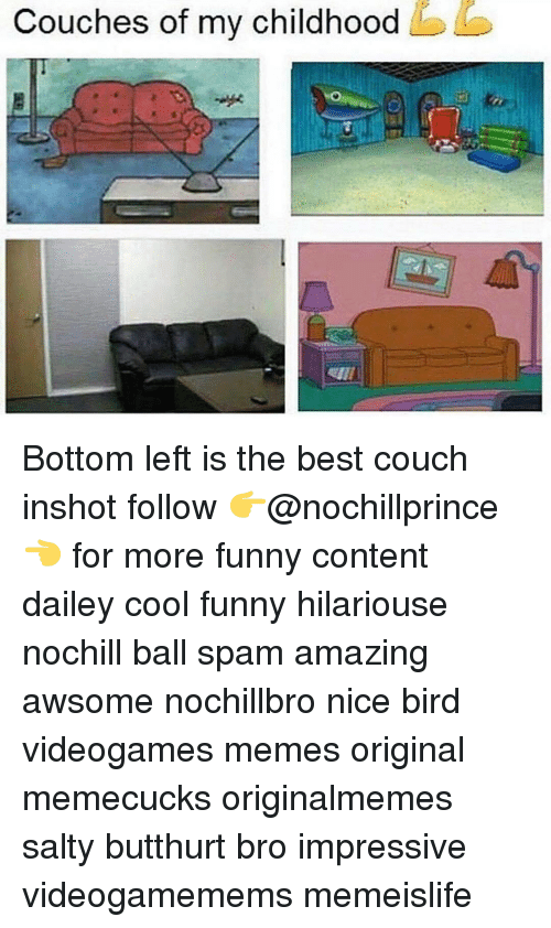 Couches Of My Childhood