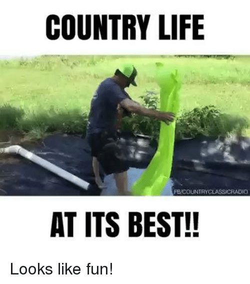 Country Life Feco Untryclassicradio At Its Best Looks Like Fun