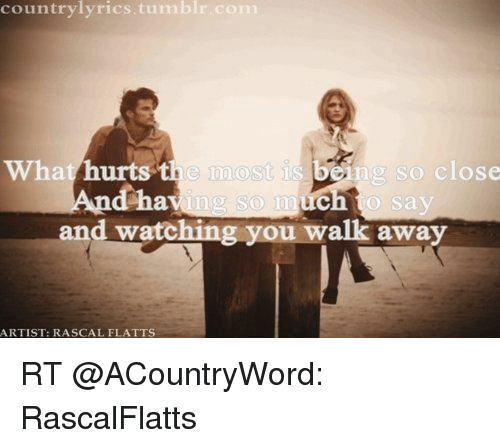 Rascal flatts so close lyrics