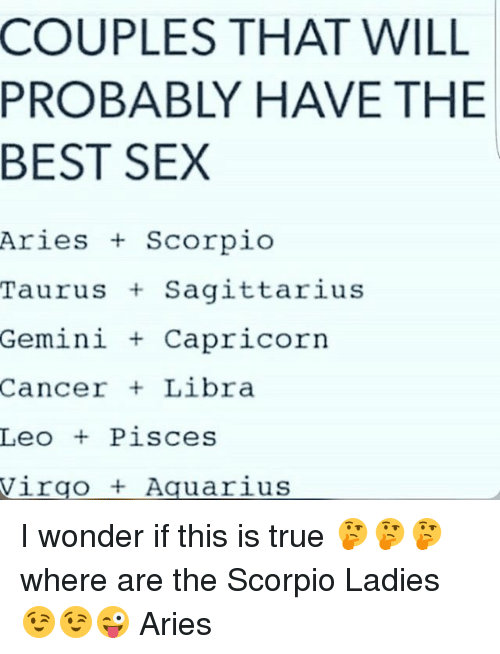 Pisces and sagittarius sexually