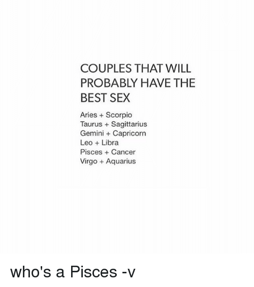 Think, that Pisces and scorpio sex this remarkable
