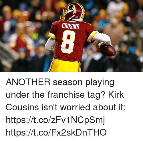 cousins another season playing under the franchise tag kirk cousins 21518488 cousins another season playing under the franchise tag? kirk,Kirk Cousins Meme