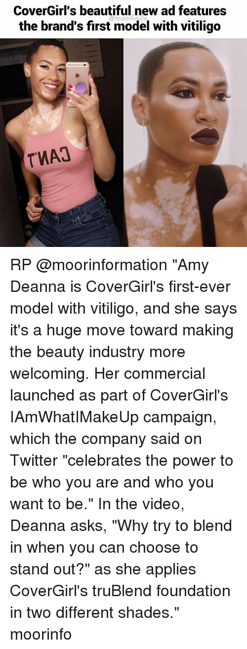 CoverGirl's Beautiful New Ad Features the Brand's First Model With