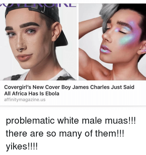 Covergirl's New Cover Boy James Charles Just Said All