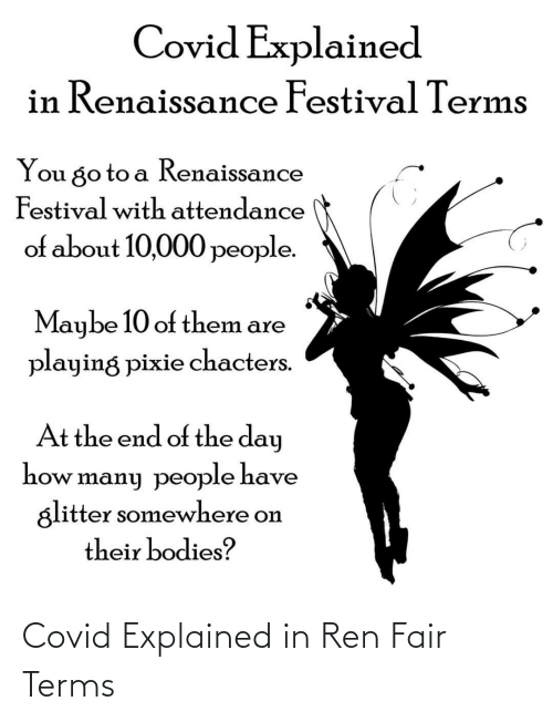 Fair, Ren, and Explained: Covid Explained in Ren Fair Terms