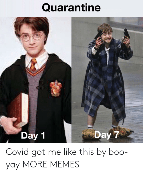 Boo, Dank, and Memes: Covid got me like this by boo-yay MORE MEMES