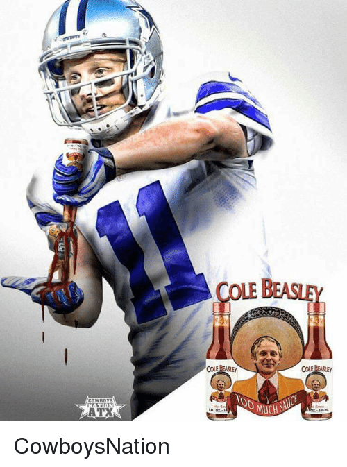 save off be819 b0fa3 COWBOYS COLE BEASLEY COLE BEASLEY CowboysNation | Meme on ME.ME