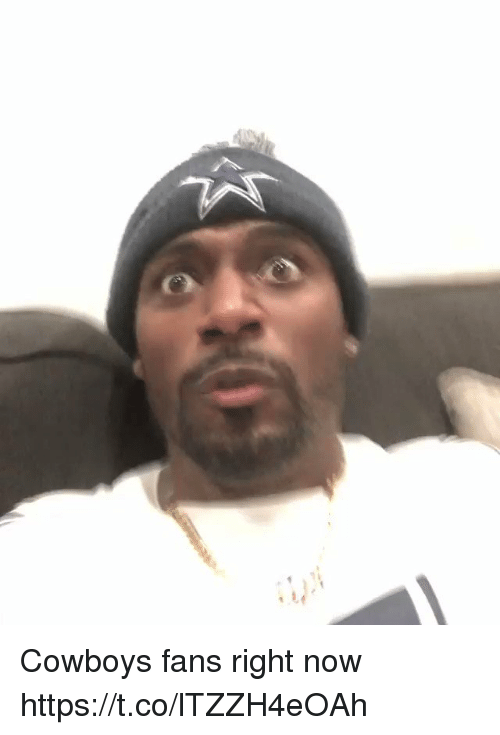Dallas Cowboys, Football, and Nfl: Cowboys fans right now https://t.co/lTZZH4eOAh