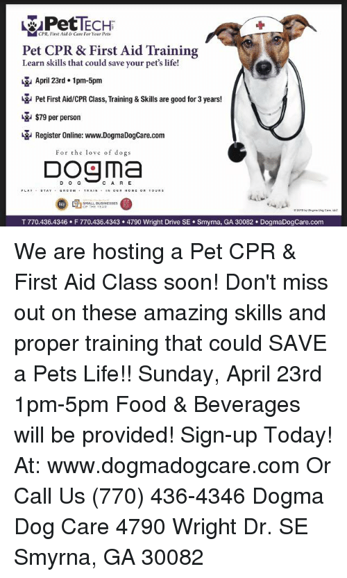 Cpr First Aid Care For Your Pets Pet Cpr First Aid