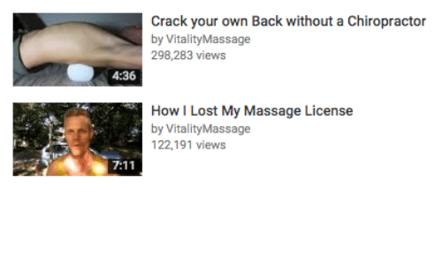 cracking your own back and neck