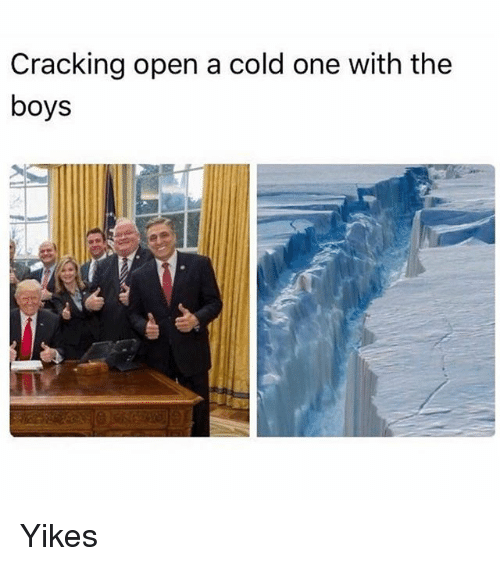 Funny, Cold, and A Cold One: Cracking open a cold one with the  boys Yikes