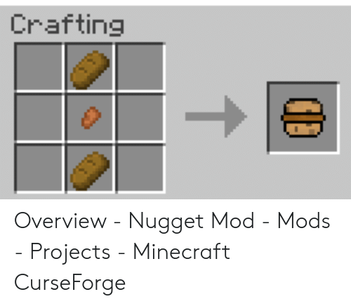 Crafting Overview - Nugget Mod - Mods - Projects - Minecraft