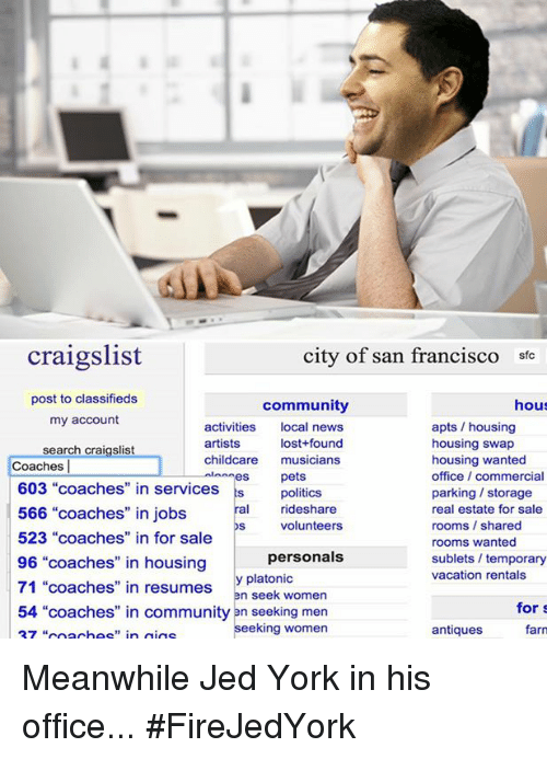 Craigslist men seeking men san francisco
