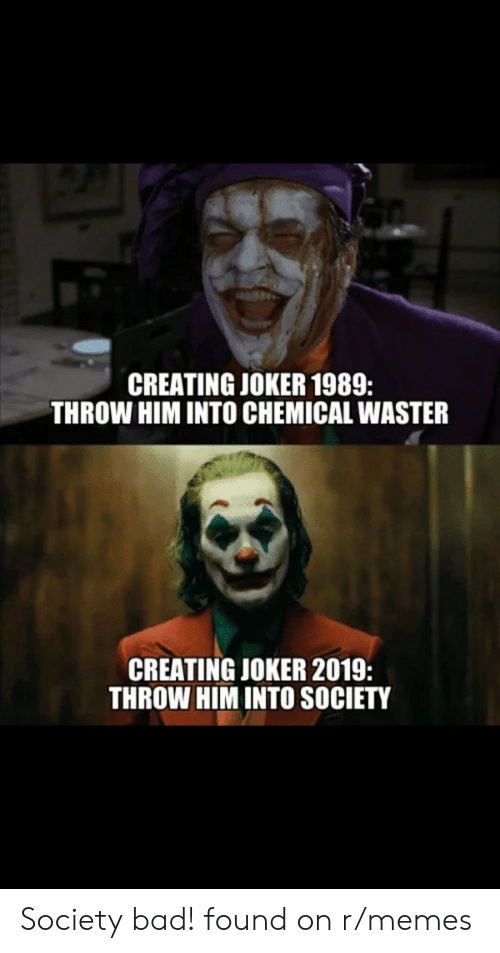 Creating Joker 1989 Throw Him Into Chemical Waster Creating