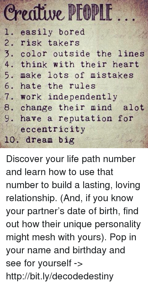 Big 5 personality traits relationships dating